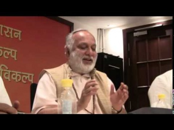 Sw Anand Arun talk at the BJP HQ about Indo Nepal relation published by nepalbritain.com