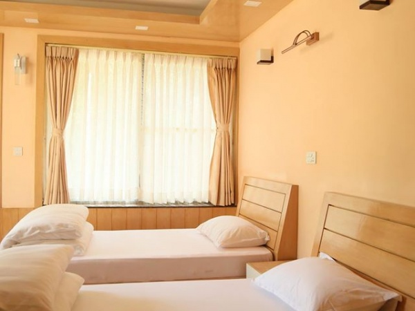New deluxe rooms and suites now ready at the new Guest House at Osho Tapoban.