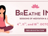 Breathe in: Sessions of meditation & Joy (11 & 18 Oct)