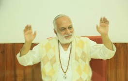 Swami Ji with his divinity