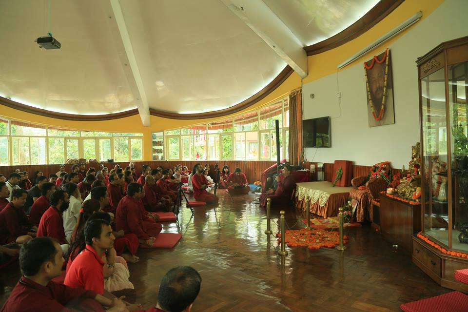 Guru Purnima (Master's day) celebration at Tapoban